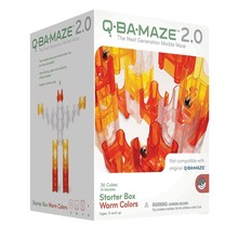 Mindware Q-Ba-Maze 2.0 Marble Run Warm Colours