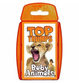 Outset Media Top Trumps Card Game Baby Animals