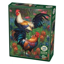 Cobble Hill Puzzles Cobble Hill  Puzzle 1000pc Roosters