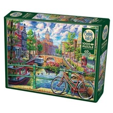 Cobble Hill Puzzles Cobble Hill Puzzle 1000pc Amsterdam Canal