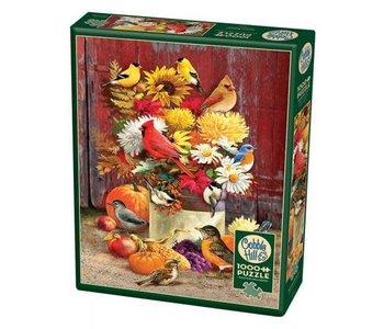 Cobble Hill Puzzle 1000pc Autumn Bouquet