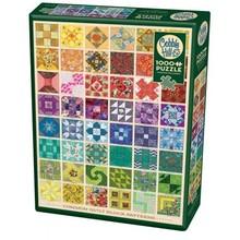 Cobble Hill Puzzles Cobble Hill Puzzle 1000pc Common Quilt Blocks