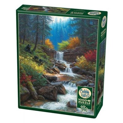 Cobble Hill Puzzles Cobble Hill Puzzle 1000pc Mountain Cascade