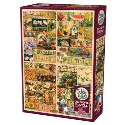 Cobble Hill Puzzles Cobble Hill Puzzle 2000pc The Four Seasons