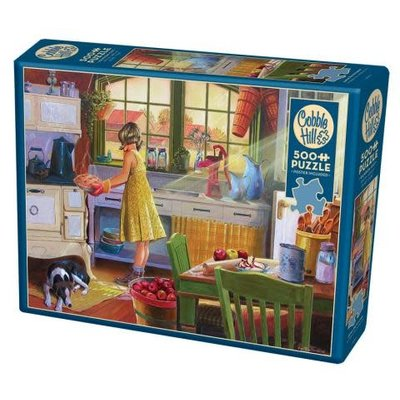 Cobble Hill Puzzles Cobble Hill Puzzle 500pc Apple Pie Kitchen