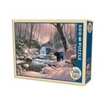 Cobble Hill Puzzles Cobble Hill Puzzle 500pc Black Bear Brook