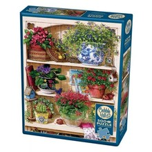 Cobble Hill Puzzles Cobble Hill Puzzle 500pc Flower Cupboard