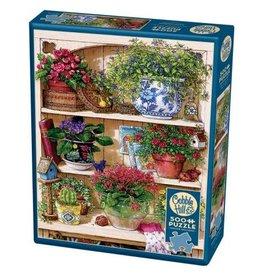 Cobble Hill Puzzles Cobble Hill Puzzle 500pc Flower Cupboard