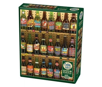 Cobble Hill Puzzle 1000pc Beer Collection