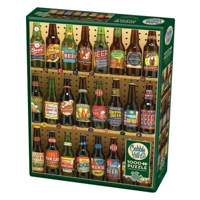Cobble Hill Puzzles Cobble Hill Puzzle 1000pc Beer Collection