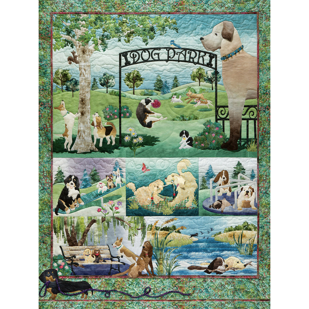 Cobble Hill Puzzles 500pc McKenna Ryan Dog Park
