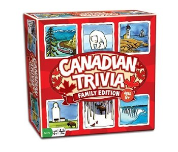 Outset Game Canadian Trivia Family Edition