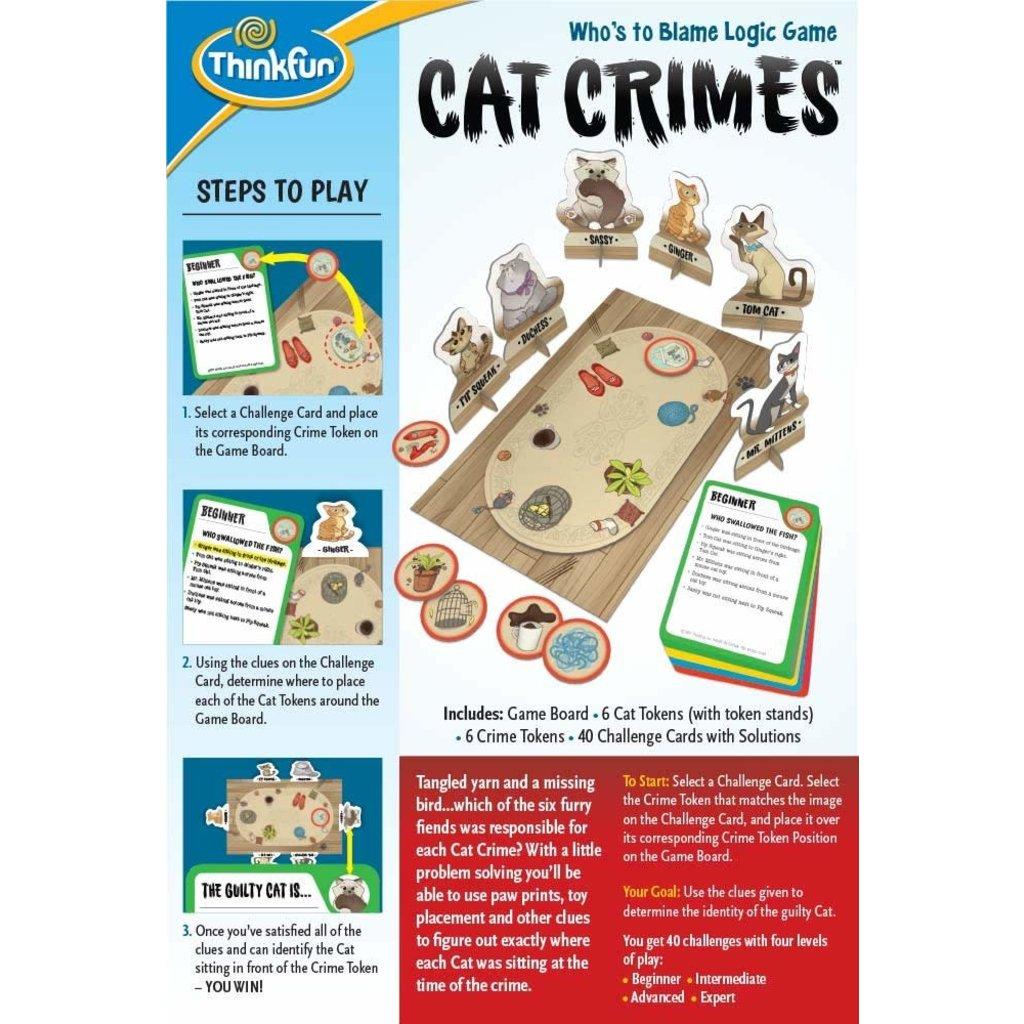 Thinkfun Game Cat Crimes