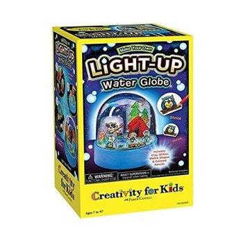Creativity for Kids Light Up Water Globe