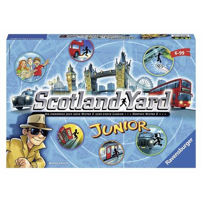 Ravensburger Ravensburger Game Scotland Yard Junior