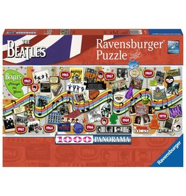 Ravensburger Ravensburger Puzzle 1000pc Beatles Through the Years