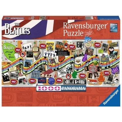 Ravensburger Ravensburger Puzzle 1000pc Beatles Through the Years