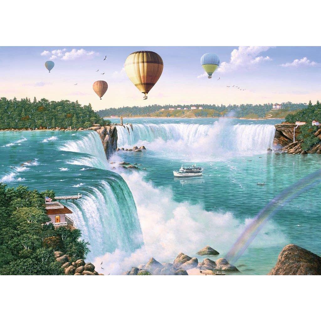 Ravensburger Puzzle 1000pc Canadian Niagara Falls