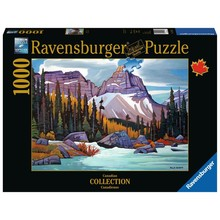 Ravensburger Ravensburger Puzzle 1000pc Canadian Cathedral Mountain