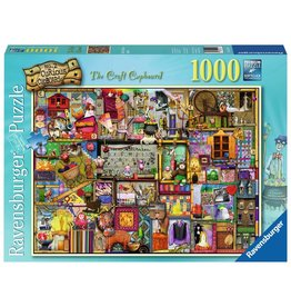 Ravensburger Ravensburger Puzzle 1000pc Craft Cupboard
