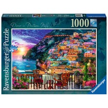 Ravensburger Ravensburger Puzzle 1000pc Dinner in Positano