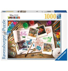 Ravensburger Ravensburger Puzzle 1000pc Disney Sketches
