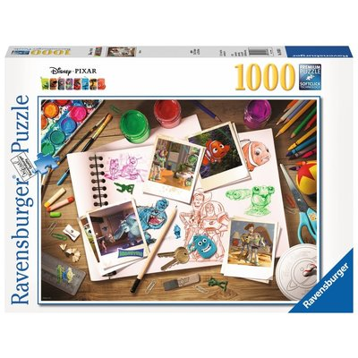Ravensburger Ravensburger Puzzle 1000pc Disney Sketches