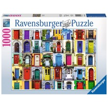 Ravensburger Ravensburger Puzzle 1000pc Doors of the World