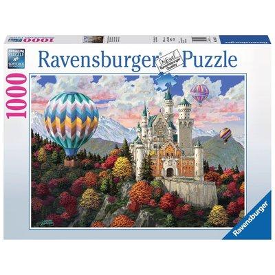 Ravensburger Ravensburger Puzzle 1000pc Neuschwanstein Daydream