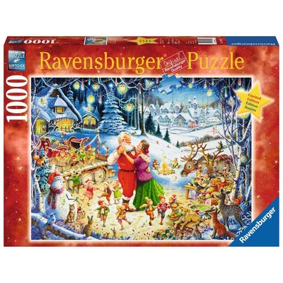 Ravensburger Ravensburger Puzzle 1000pc Santa's Christmas Party