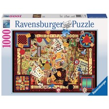 Ravensburger Ravensburger Puzzle 1000pc Vintage Games