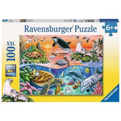 Ravensburger Ravensburger Puzzle 100pc Beautiful Ocean