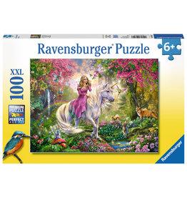 Ravensburger Ravensburger Puzzle 100pc Magical Ride