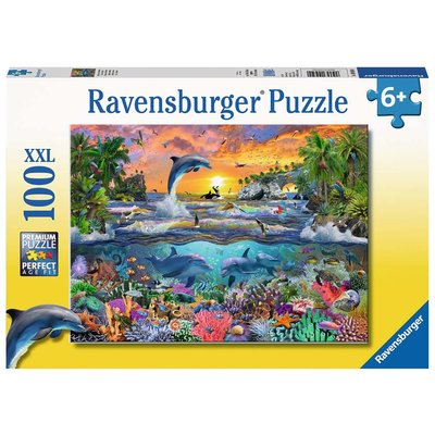 Ravensburger Ravensburger Puzzle 100pc Tropical Paradise