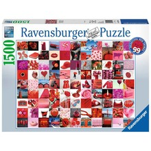 Ravensburger Ravensburger Puzzle 1500pc 99 Beautiful Red Things