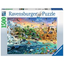 Ravensburger Ravensburger Puzzle 1500pc Our Wild World