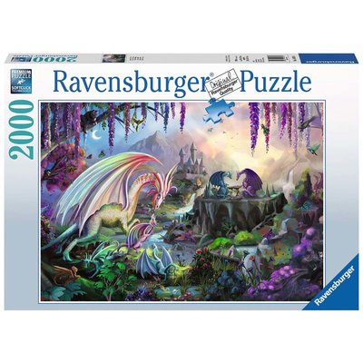 Ravensburger Ravensburger Puzzle 2000pc Dragon Valley