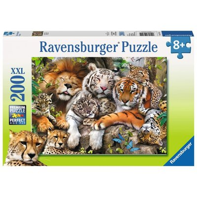 Ravensburger Ravensburger Puzzle 200pc Big Cat Nap