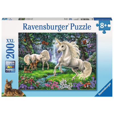 Ravensburger Ravensburger Puzzle 200pc Mystical Unicorns