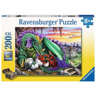 Ravensburger Ravensburger Puzzle 200pc Queen of Dragons