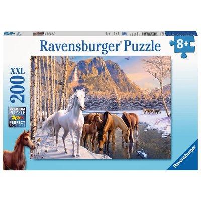 Ravensburger Ravensburger Puzzle 200pc Winter Horses