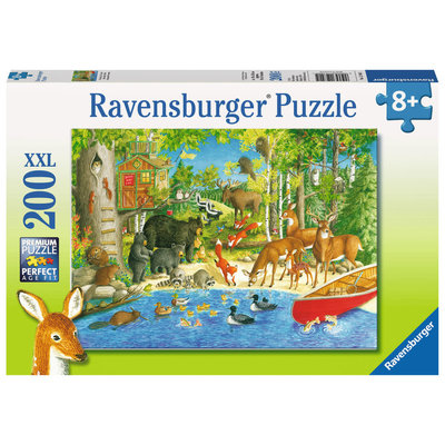 Ravensburger Ravensburger Puzzle 200pc Woodland Friends