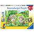 Ravensburger Puzzle 2x24pc Sweet Koalas and Pandas