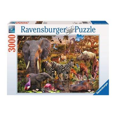 Ravensburger Ravensburger Puzzle 3000pc African Animal World