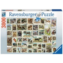 Ravensburger Ravensburger Puzzle 3000pc Animal Stamps