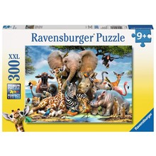 Ravensburger Ravensburger Puzzle 300pc African Friends