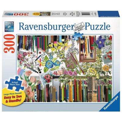 Ravensburger Ravensburger Puzzle 300pc Large Format Color with Me