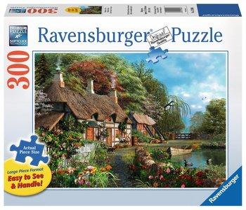 Ravensburger Puzzle 300pc Large Format Cottage on a Lake