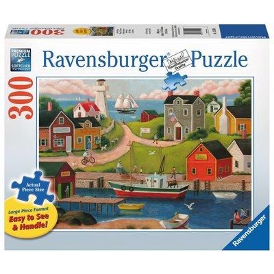 Ravensburger Ravensburger Puzzle 300pc Large Format Gone Fishin'