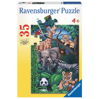 Ravensburger Ravensburger Puzzle 35pc Animals Kingdom
